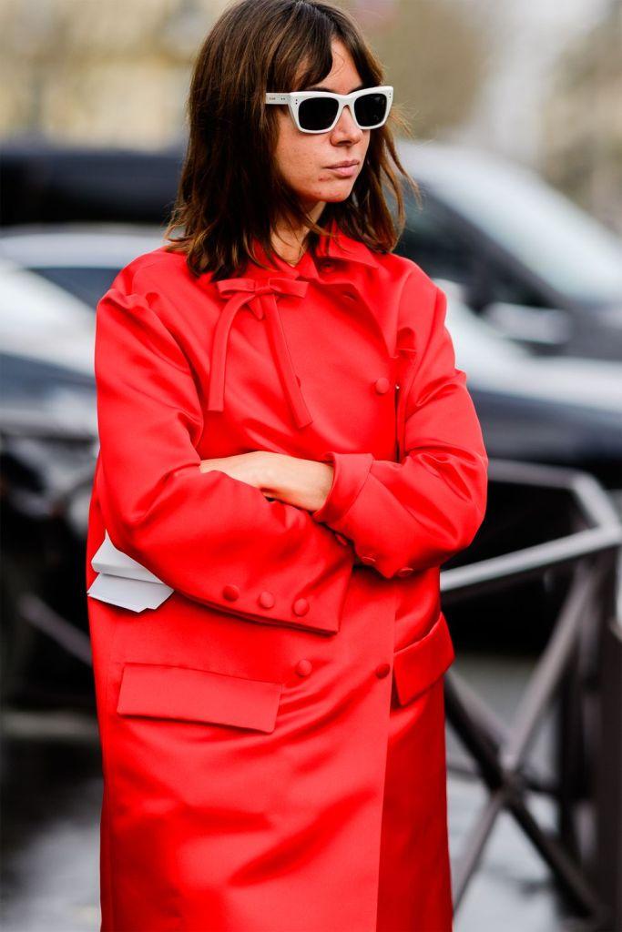 Stilul pe stradă Paris Fashion Week.(Galerie Foto) 16