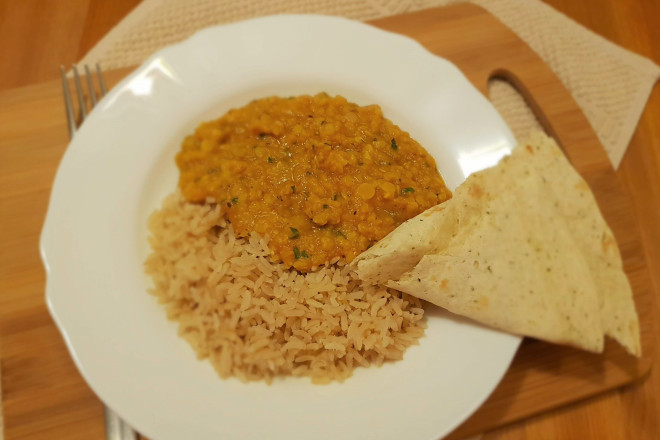 Dal de linte din bucătăria indiană 1
