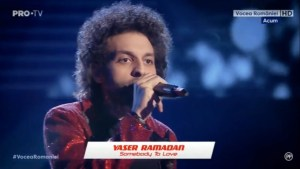 Yaser Ramadan – Somebody To Love la Vocea Romaniei 2019/ Audiții