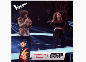 Renee Santana și Yaser Ramadan: Confruntare la Vocea României 2019