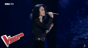 Amanda Aprotosoaei în Galele Live la Vocea României 2019