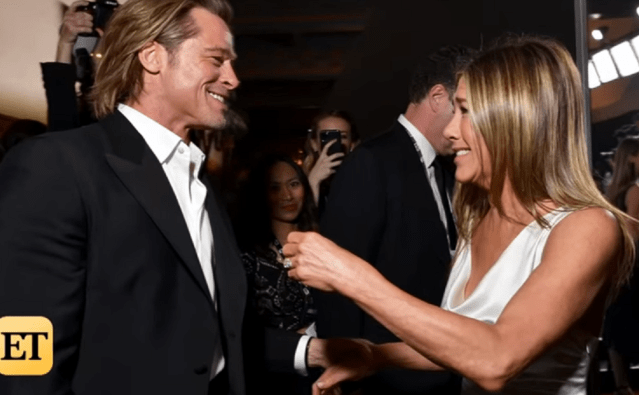 SAG Awards 2020-Brad Pitt și Jennifer Aniston