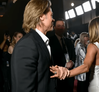 Brad Pitt și Jennifer Aniston la SAG Awards 2020