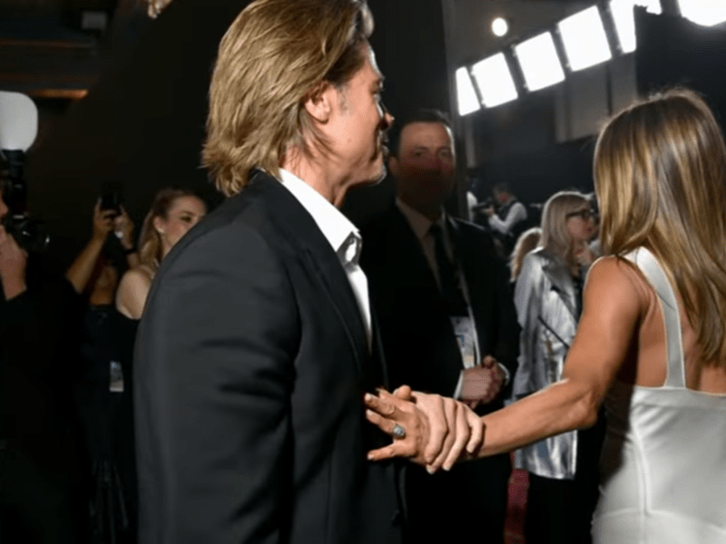 Brad Pitt și Jennifer Aniston la SAG Awards 2020