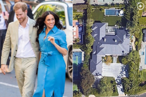Prince Harry and Meghan Markle quietly shop for mansions in LA