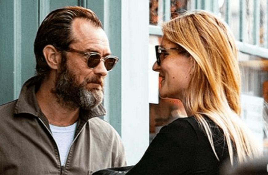 Jude Law și Phillipa Coan vor avea un copil. Jude mai are 5 copii din relațiile anterioare