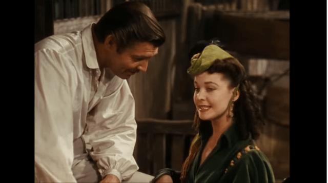 Unul dintre cele mai frumoase filme de la Hollywood:Pe aripile vântului cu Clark Gable și Vivien Leigh (Video) 4
