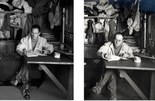 Fotograful Drew Gardner găsește descendenții unor figuri istorice celebre pentru a crea imagini incredibile alăturate 5