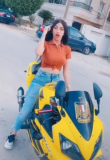 Egypt jails female influencer for 3 years for 'inciting debauchery' with her TikTok dance videos 4