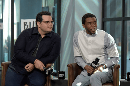 Josh Gad shares final text message from late co-star Chadwick Boseman who died Friday 4