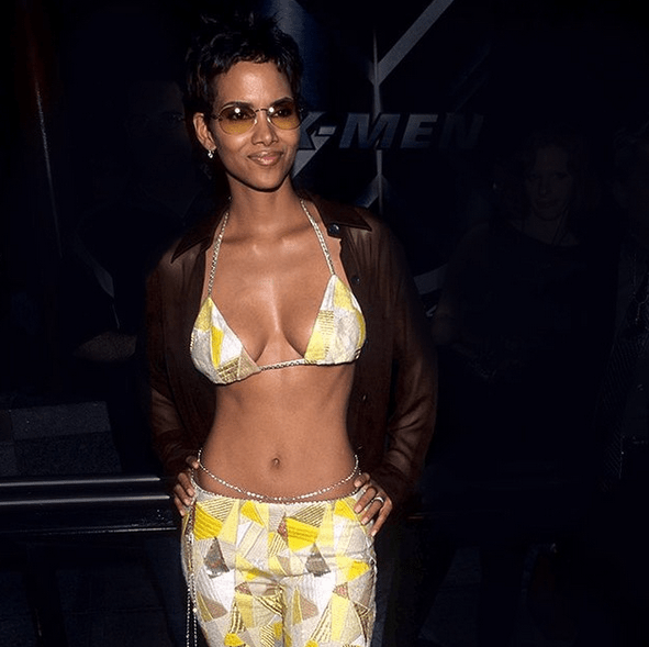 Halle Berry, 54, looked incredible in a racy two-piece on the beach during her birthday getaway 9