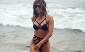 Halle Berry, 54, looked incredible in a racy two-piece on the beach during her birthday getaway