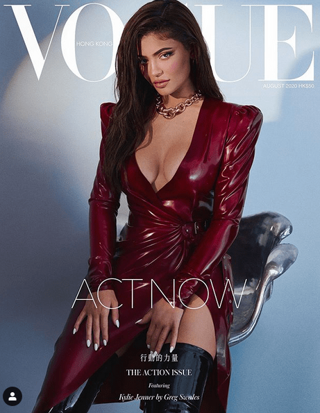 Kylie Jenner celebrates 23rd birthday in custom crystal corset 8
