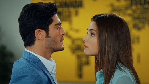Aşk Laftan Anlamaz (Dragostea nu înțelege cuvintele) cu Hande Erçel și Burak Deniz-Serial de comedie romantică 17