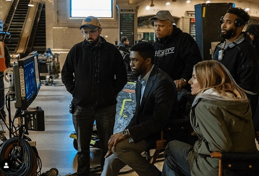 Chadwick Boseman teared up discussing meaning of 'Black Panther' to boys with cancer 8