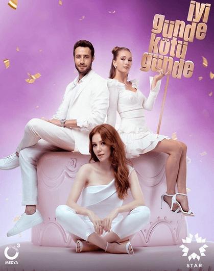 İyi Günde Kötü Günde (Zile bune, zile rele)-un nou serial turcesc lansat în 2020.În rolurile principale, Elçin Sangu, Yasemin Allen și Ozan Dolunay 7