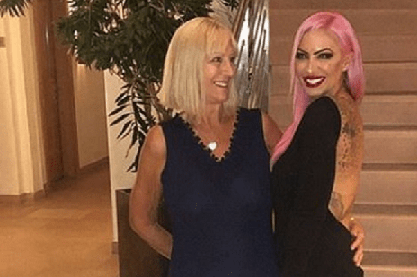 Devastated Jodie Marsh, 41, reveals her mum Kristina has died after battling 'aggressive growing cancer'