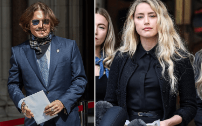 Amber heard și Johnny Depp