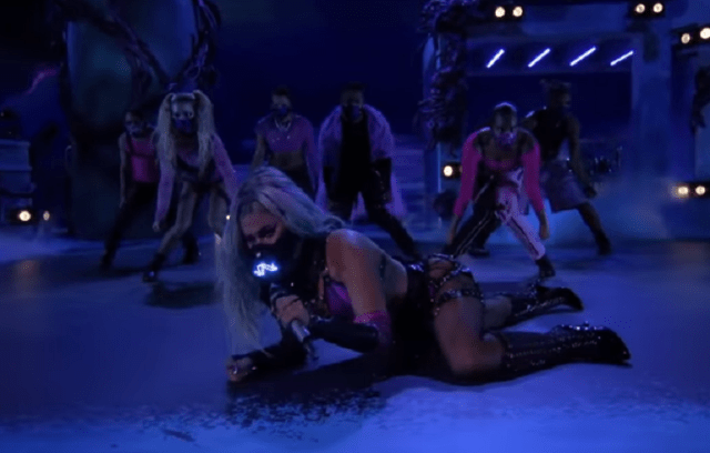 "Lady Gaga and Ariana Grande Slay the 2020 VMAs with Socially-Distant ""Rain On Me"" Performance (Video) 5"