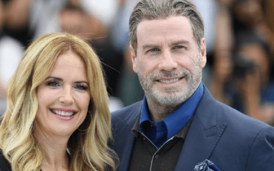 john travolta și kelly preston