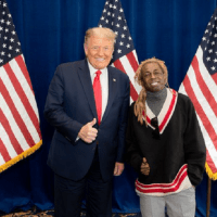"Lil Wayne reveals his meeting with Donald Trump: ""...Just had a great meeting"""
