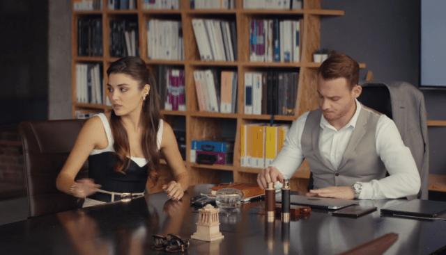Episodul 13 Sen Çal Kapımı (Bate la ușa mea) cu Hande Erçel Și Kerem Bürsin.Secvențe Video 11