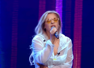 "Katarina Dyer, 21 ani, fiica lui Andrei Gheorghe, senzație pe scena X Factor:""Love On The Brain"""