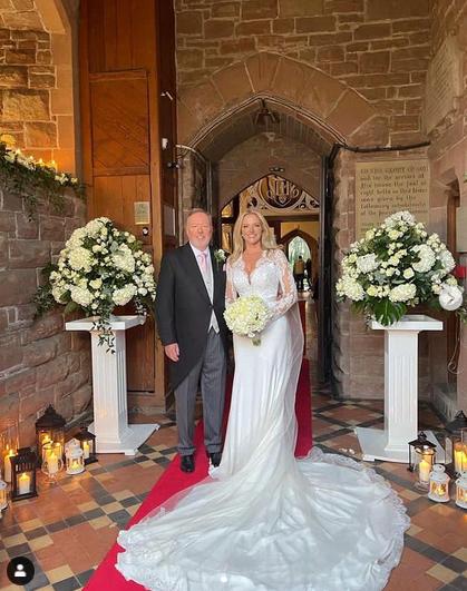 Michelle Mone, 49, finally married billionaire Doug Barrowman, 55 7