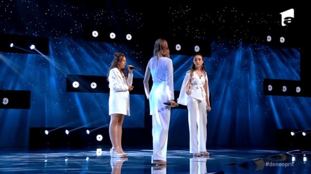 "Trio Eva, din Chișinău, un moment de excepție la X Factor:""Chandelier"" 3"