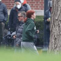 """Jennifer Lawrence, 30 ani, surprinsă în timpul filmărilor la """"Don't Look Up"""" lângă Boston"""