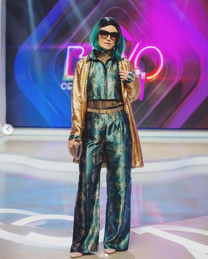 """Cântăreața Alexandra Ungureanu, 38 ani, câștigătoarea concursului """"Bravo, Ai stil! Celebrities"""" 10"""