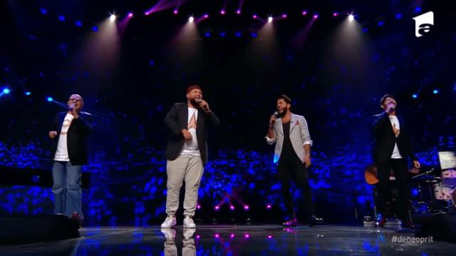 """Super 4 din Italia, show total cu piesa """"Hey Jude"""" la X Factor în Bootcamp 3"""