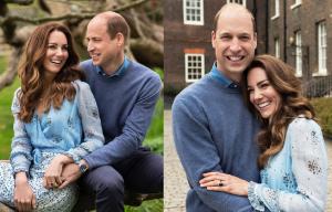 Prințul William și Kate Middleton – portretul pentru a 10-a aniversare