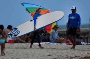 Ivanka Trump accidentally wallops son Theo, 5, in the face with surfboard