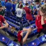 Moment emoționant la EURO 2020