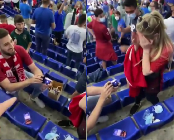 Moment emoționant la meciul de deschidere al EURO 2020 (VIDEO)