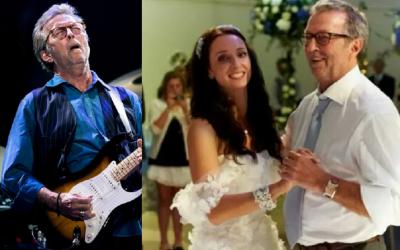 Eric Clapton și fiica sa Ruth
