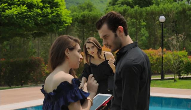 Cemre Baysel, Asli Sümen și Aytaç Sasmaz în Baht Oyunu
