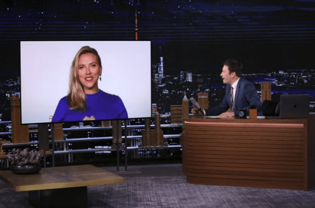 Scarlett Johansson is pregnant expecting first child with Colin Jost 1