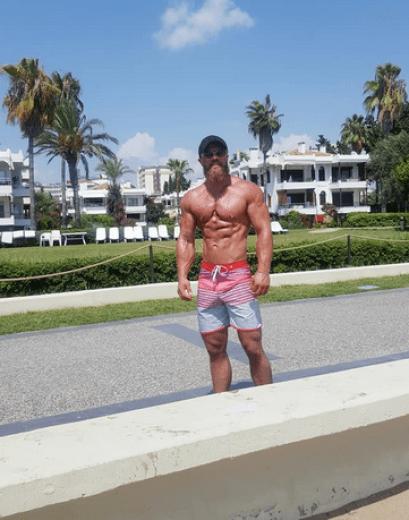 John Eyers, britanicul pasionat de fitness