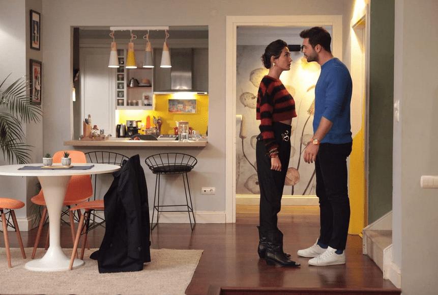 Her yerde sen _Peste tot ești tu-serial turcesc, comedie romantică