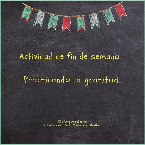 Practicar la Gratitud
