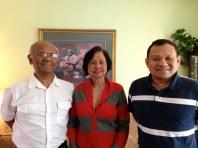 The Rahim family, Sri Lanka Malay speakers. April 12, 2013.