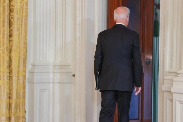 El presidente de Estados Unidos Joe Biden es el Idiota de esta semana en El American. (EFE)