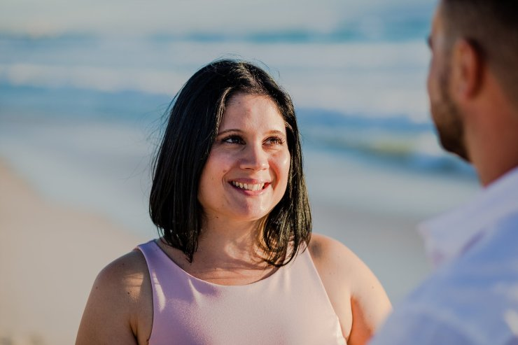Dolphin Beach Engagement - (14)