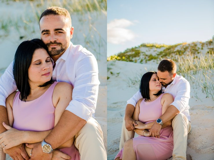 Dolphin Beach Engagement - (3)