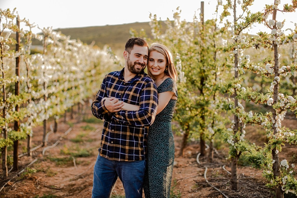 overberg engagement shoot