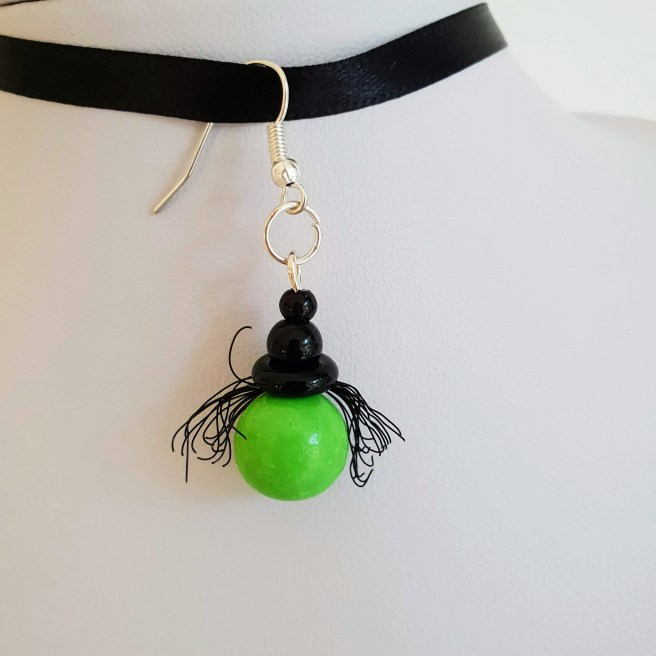 Witch earrings £8 or as necklace £5