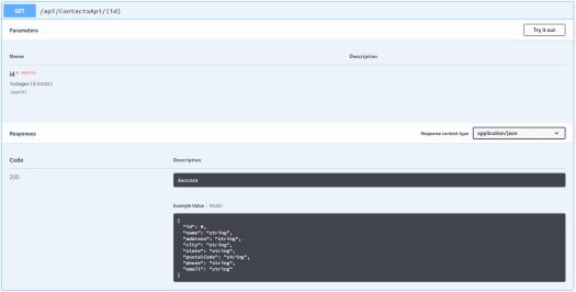 Web API – Eric L  Anderson
