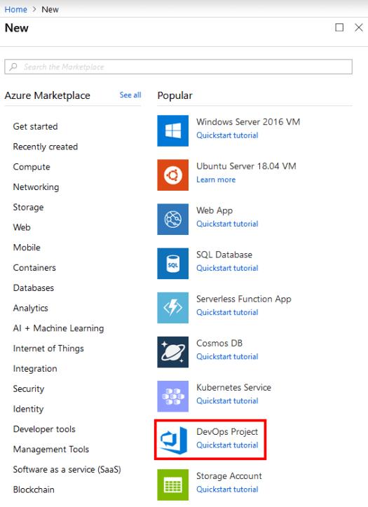 Azure DevOps Project – Eric L  Anderson